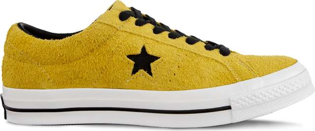 Converse ONE STAR DARK STAR C163245 BOLD CITRON/BLACK/WHITE