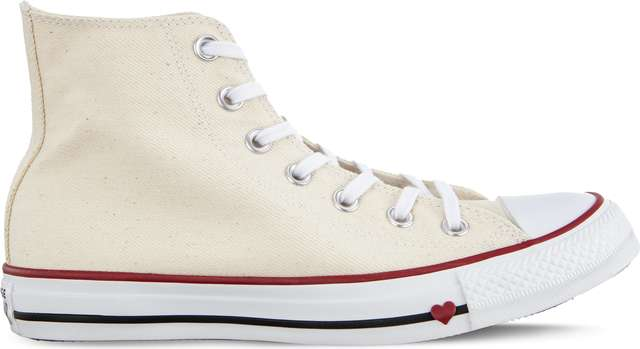 Converse CHUCK TAYLOR ALL STAR SUCKER LOVE C163304 NATURAL/WHITE/GARNET