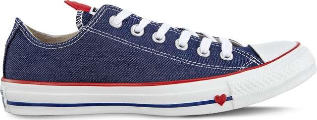 Converse C163308 INDIGO/ENAMEL RED/WHITE