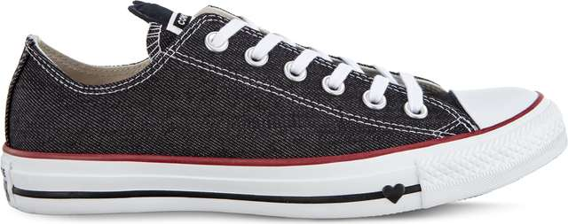 Converse C163309 BLACK/WHITE/GARNET