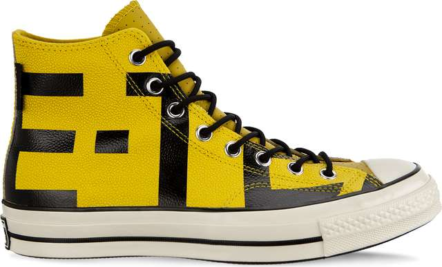 Converse CHUCK 70 GORE-TEX LEATHER HIGH C163226 BOLD CITRON/BLACK/EGRET