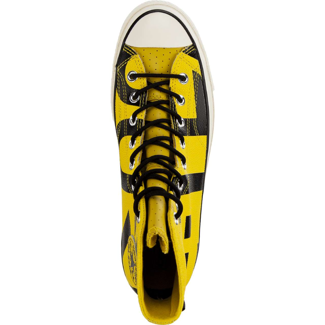 Trampki Converse  <br/><small>CHUCK 70 GORE-TEX LEATHER HIGH C163226 BOLD CITRON/BLACK/EGRET </small>