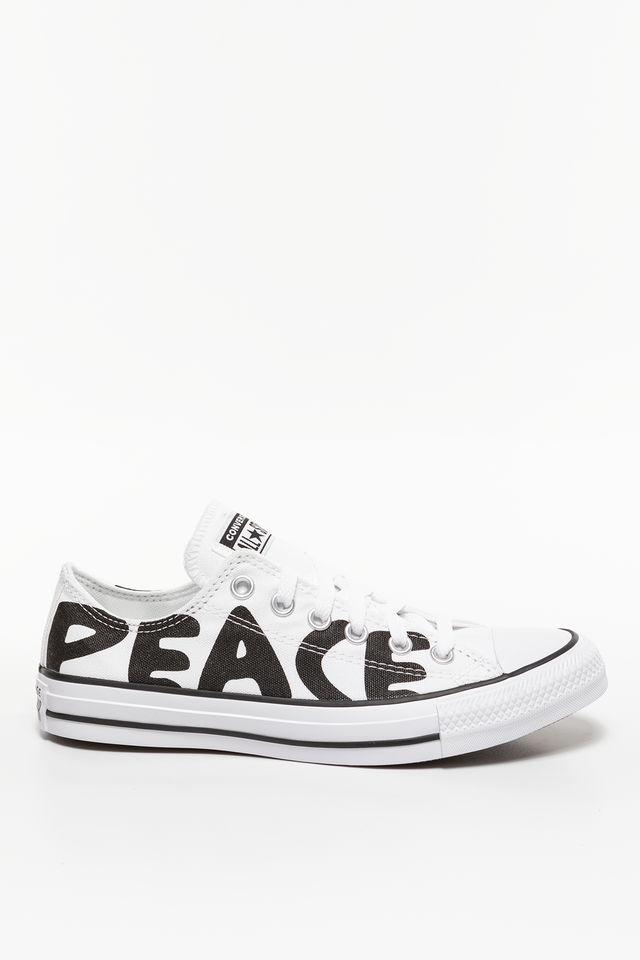 Converse CHUCK TAYLOR PEACE 894 WHITE/BLACK/WHITE 167894C