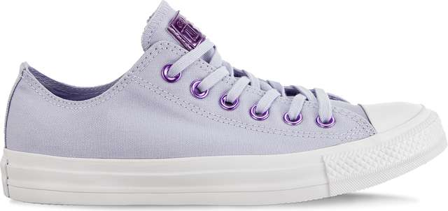 Converse CHUCK TAYLOR ALL STAR OX C163284 OXYGEN PURPLE/WASHED LILAC