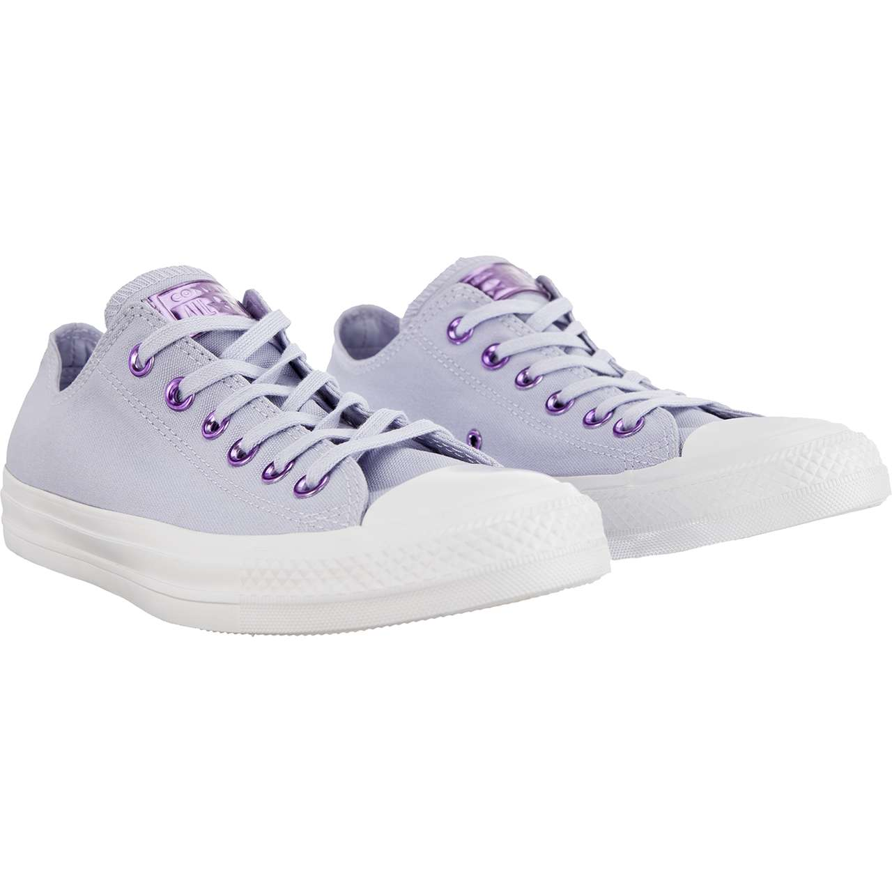 Trampki Converse  <br/><small>CHUCK TAYLOR ALL STAR OX C163284 OXYGEN PURPLE/WASHED LILAC </small>