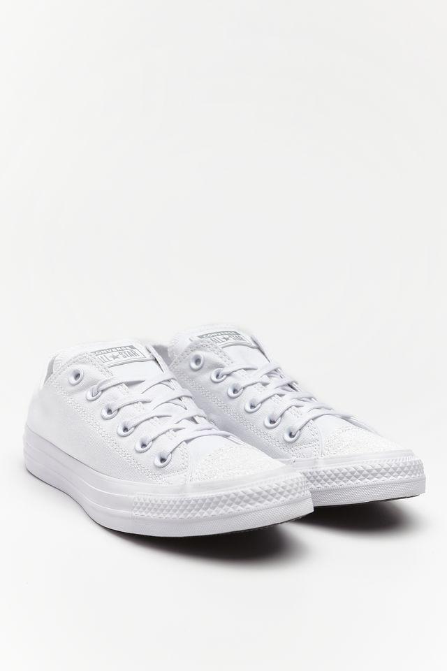 Converse CHUCK TAYLOR ALL STAR C563464 WHITE/WHITE/SILVER