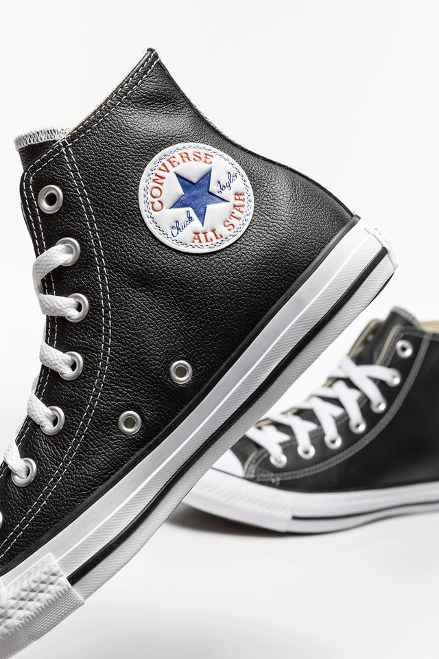 Converse CHUCK TAYLOR ALL STAR LEATHER 170 BLACK C132170