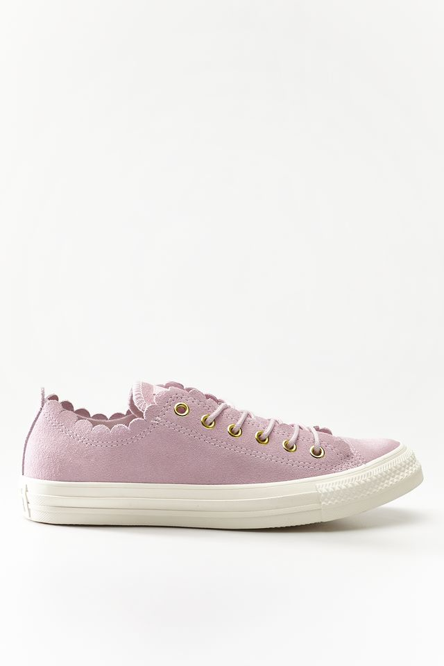 Converse CHUCK TAYLOR ALL STAR SCALLOP 416 PINK FOAM/GOLD/EGRET C563416