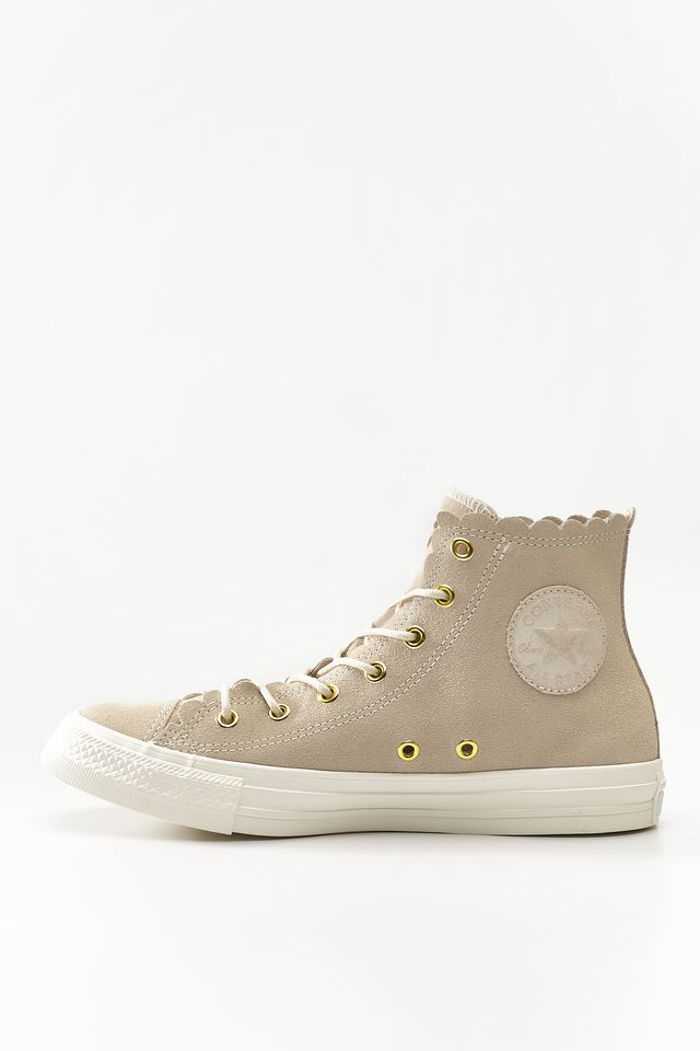 Trampki Converse  <br/><small>CHUCK TAYLOR ALL STAR SCALLOP 421 NATURAL IVORY/GOLD/EGRET </small>  C563421