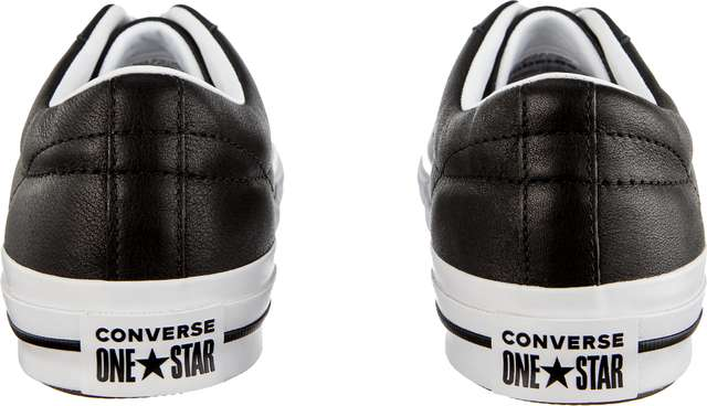 Trampki Converse  <br/><small>ONE STAR OX C163385 BLACK/WHITE/WHITE </small>