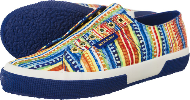 Superga 2750 Slipon Fabric Fan A43 S00BQ90-A43