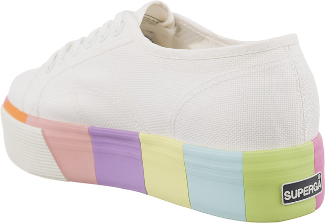 Trampki Superga  <br/><small>2790 COTMULTIFOXINGW G78 WHITE MULTICOLOR </small>  S00BVK0-G78