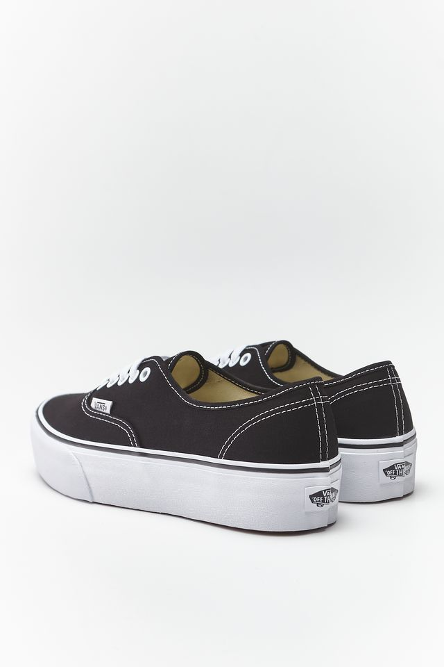 Trampki Vans  <br/><small>AUTHENTIC PLATFORM BLK BLACK </small>  VN0A3AV8BLK1