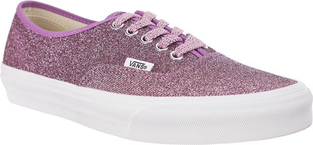 Vans AUTHENTIC U3U LUREX GLITTER PINK/TRUE WHITE VN0A38EMU3U1