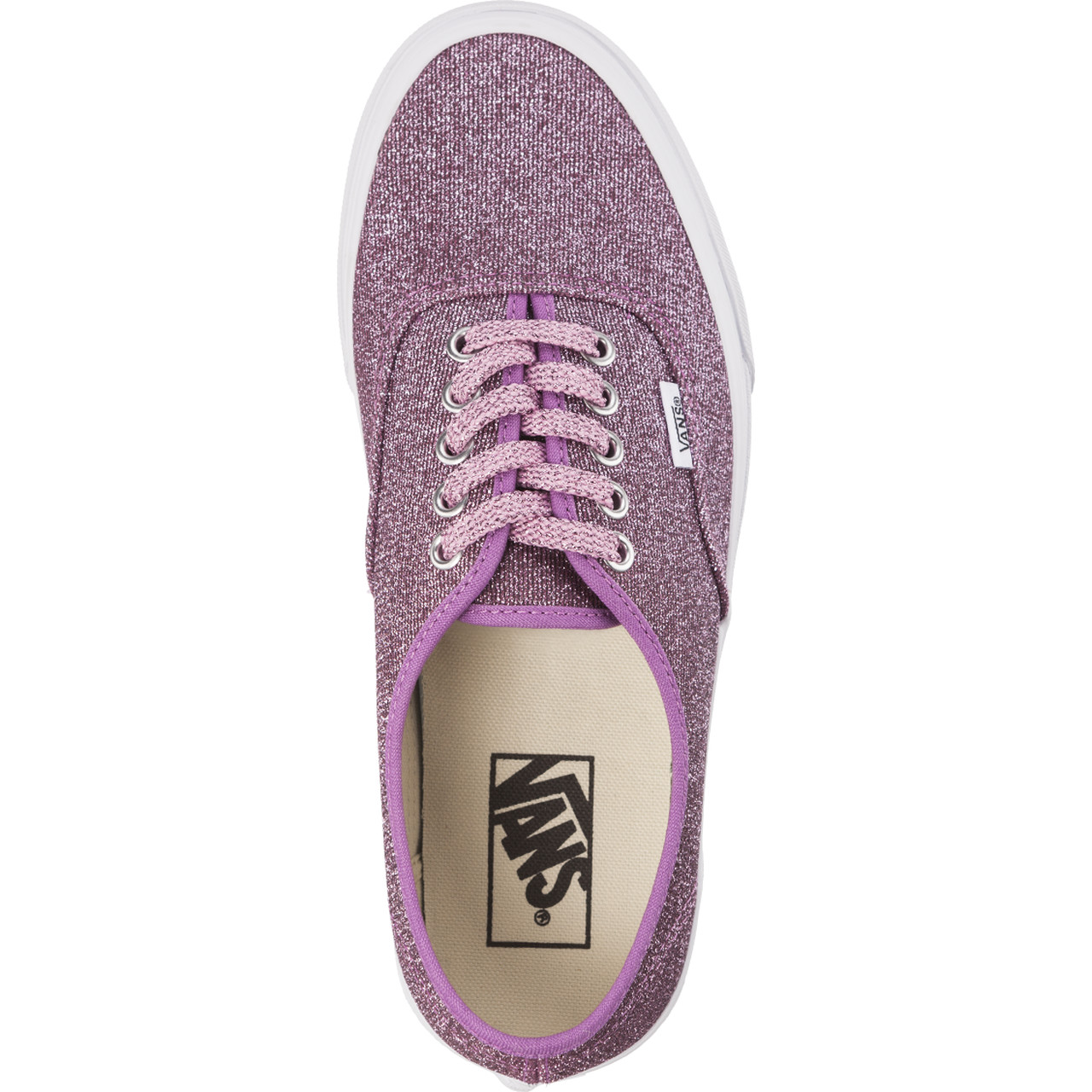Trampki Vans  <br/><small>AUTHENTIC U3U LUREX GLITTER PINK/TRUE WHITE </small>  VN0A38EMU3U1