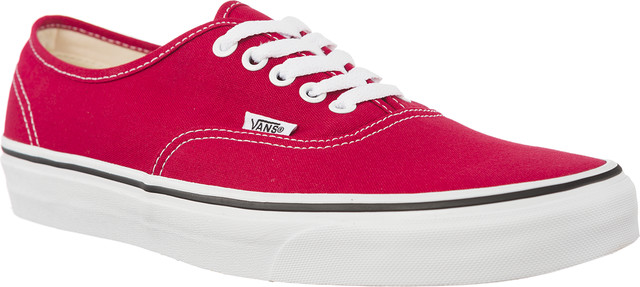 Vans AUTHENTIC Q9U CRIMSON/TRUE WHITE VN0A38EMQ9U1