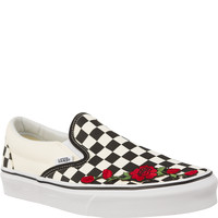 Trampki Vans Classic Slip-on BWW RED FLOWER