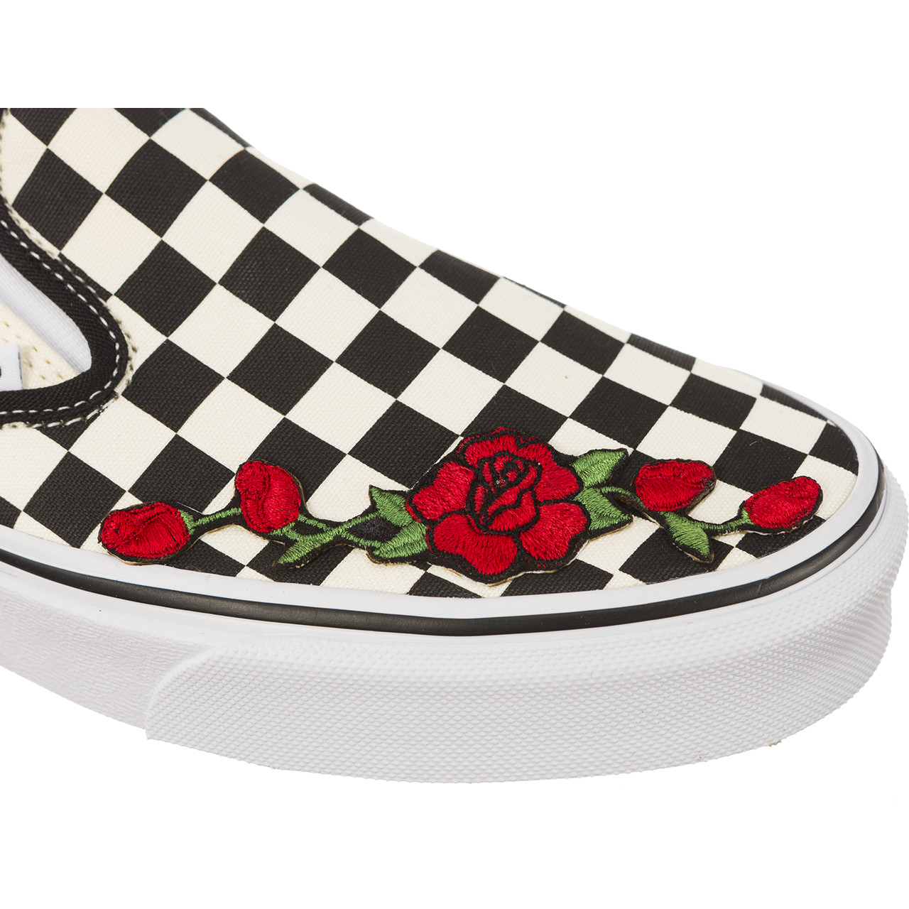Trampki Vans  <br/><small>CLASSIC SLIP ON RED FLOWER </small>  BWWVEYE06042018