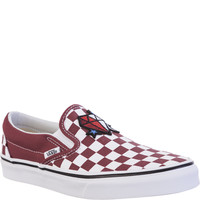 Vans CLASSIC SLIP-ON QCJ RED DIAMOND RDA38F7QCJRD