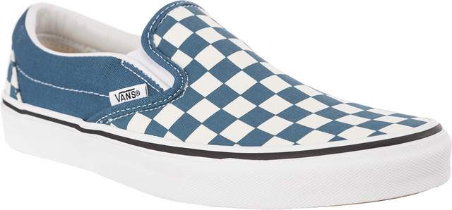 Vans CLASSIC SLIP-ON U78 CHECKERBOARD CORSAIR/TRUE WHITE VN0A38F7U781