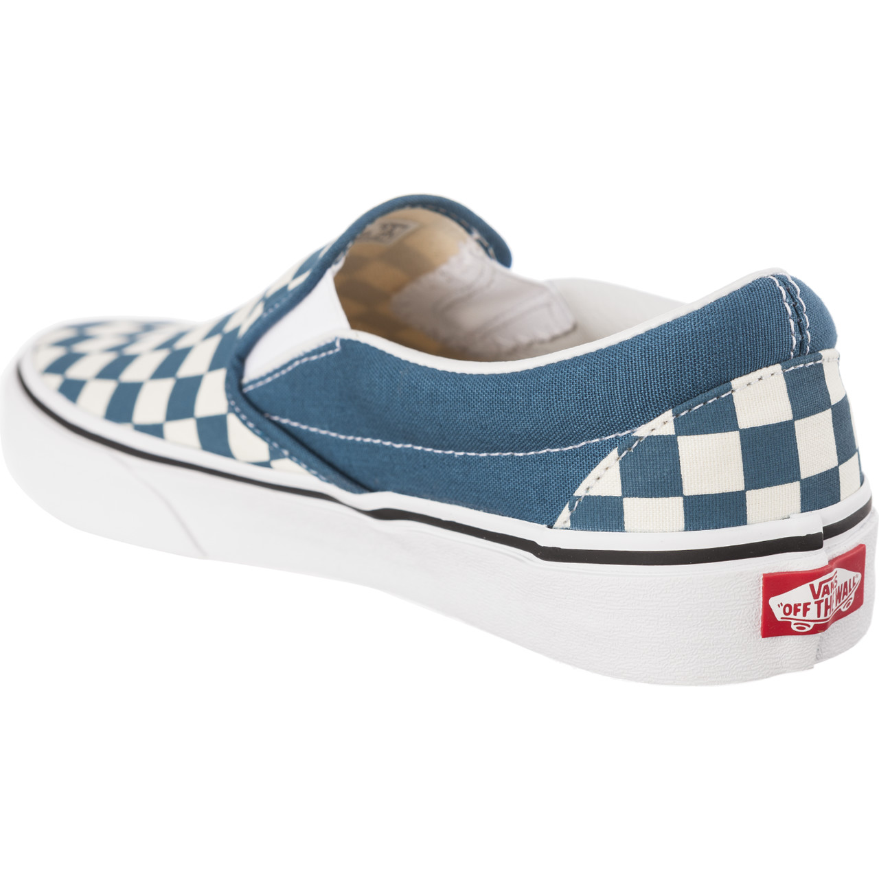 Trampki Vans  <br/><small>CLASSIC SLIP-ON U78 CHECKERBOARD CORSAIR/TRUE WHITE </small>  VN0A38F7U781