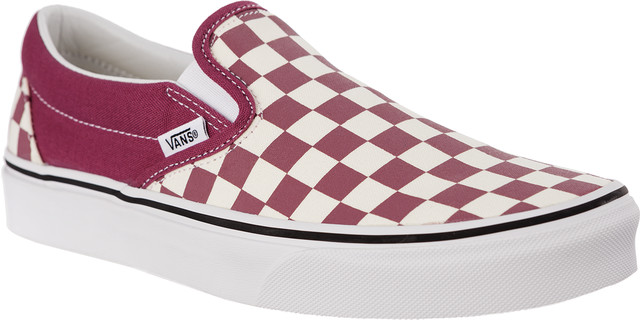 Vans CLASSIC SLIP-ON U7A CHECKERBOARD DRY ROSE/WHITE VN0A38F7U7A1