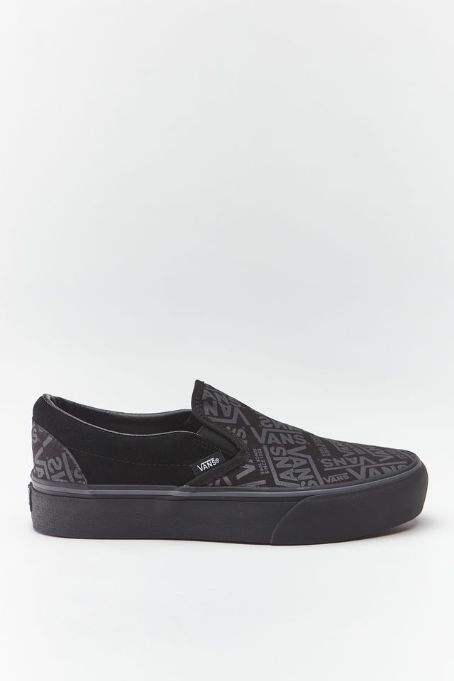 BLACK 66 CLASSIC SLIP-ON PLATFORM WW0