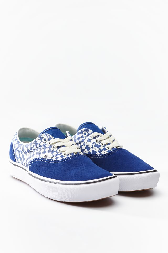 Trampki Vans  <br/><small>COMFYCUSH ERA VA0 TEAR CHECKERBOARD/TRUE BLUE/TRUE WHITE </small>  VN0A3WM9VA01