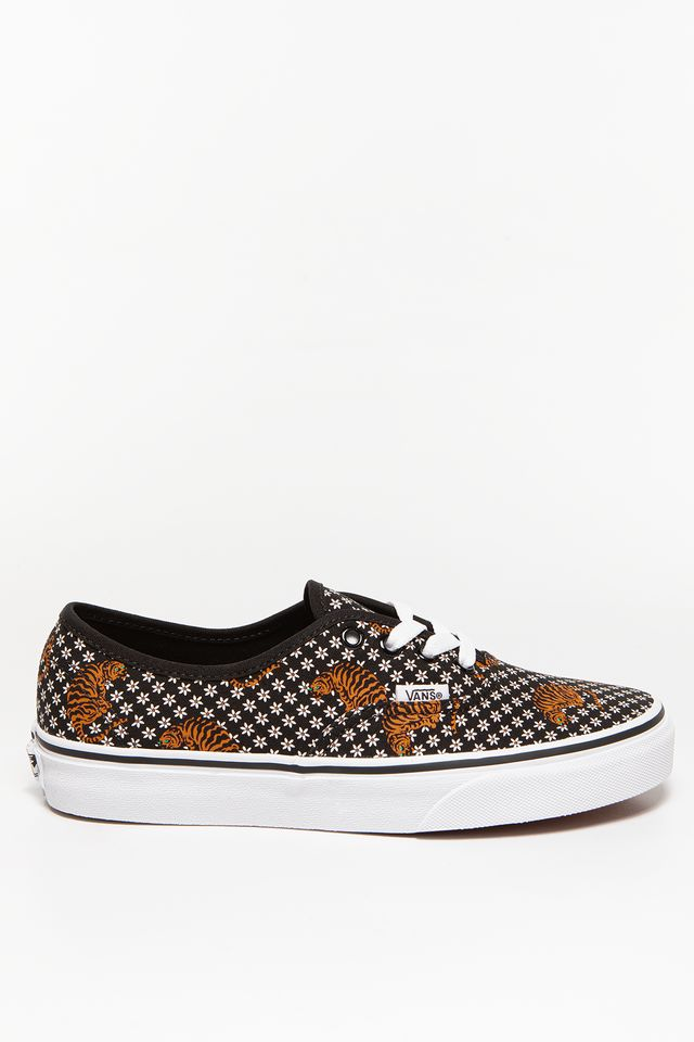 (TIGER FLORAL) BLK/TRUE WHITE UA Authentic VN0A2Z5I19M1
