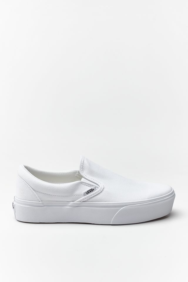 Vans CLASSIC SLIP-ON PLATFORM W00 TRUE WHITE VN0A3JEZW001
