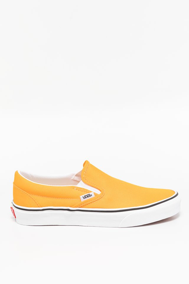 NEON BLAZING ORANGE/TRUE WHITE CLASSIC SLIP-ON WT4