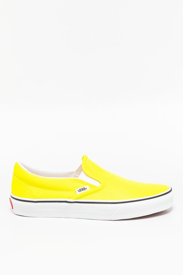 NEON LEMON TONIC/TRUE WHITE CLASSIC SLIP-ON WT7