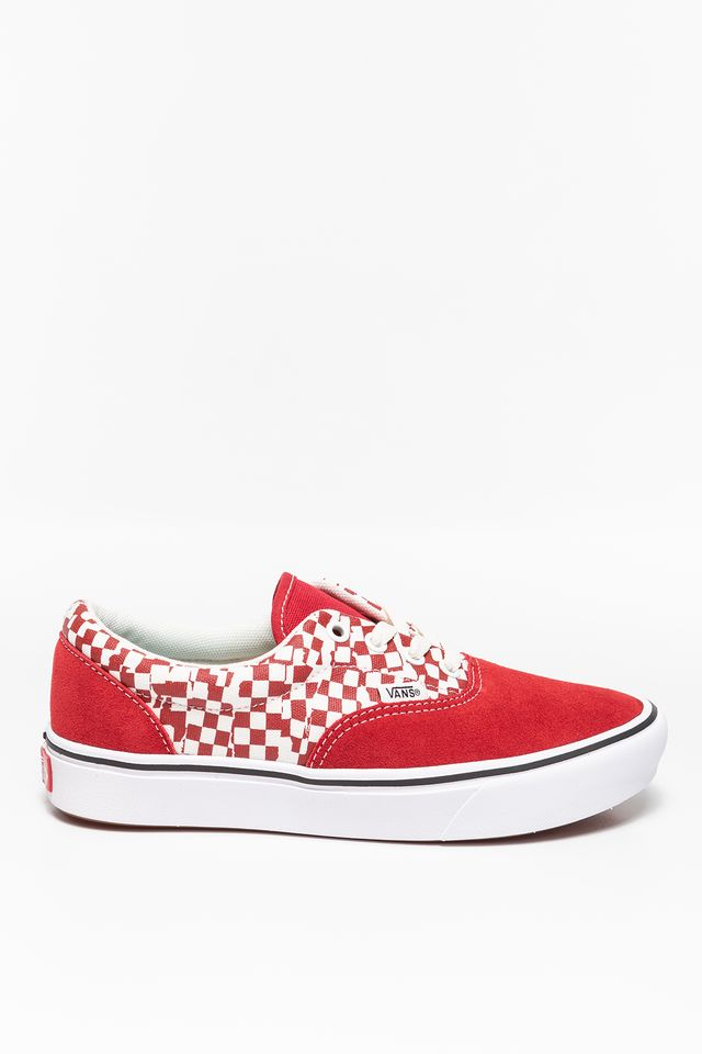 Vans COMFYCUSH ERA V9Z TEAR CHECKERBOARD/RACING RED/TRUE WHITE VN0A3WM9V9Z