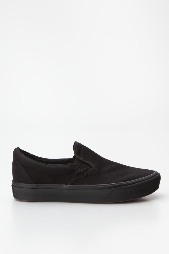 BLACK/BLACK COMFYCUSH SLIP-ON VND