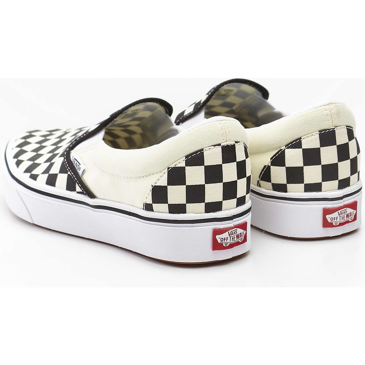 Trampki Vans  <br/><small>COMFYCUSH SLIP-ON VO4 CHECKERBOARD/TRUE WHITE </small>  VN0A3WMDVO41