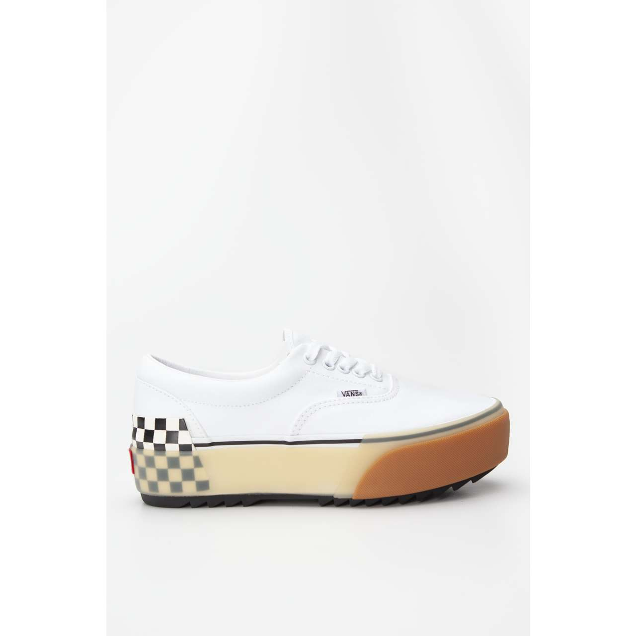 Trampki Vans  <br/><small>Era Stacked White/Checkerboard </small>  VN0A4BTOTDC1