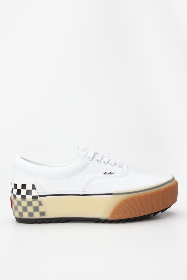 Vans Era Stacked White/Checkerboard VN0A4BTOTDC1