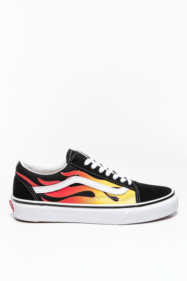 FLAME/BLACK UA Old Skool FLAME BLACK/BL VN0A38G1PHN1M