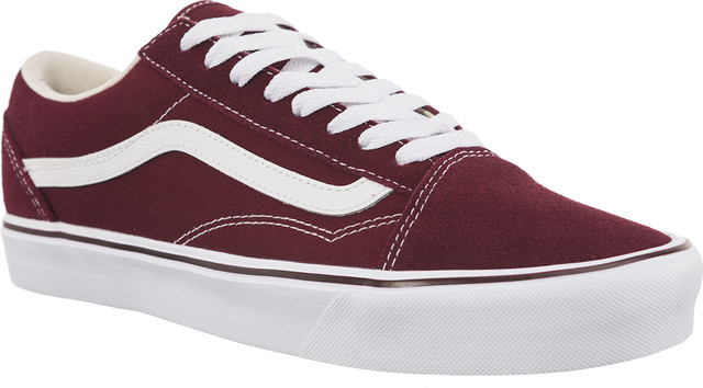 Vans OLD SKOOL LITE SUEDE/CANVAS R2K PORT ROYALE/TRUE WHITE VA2Z5WR2K