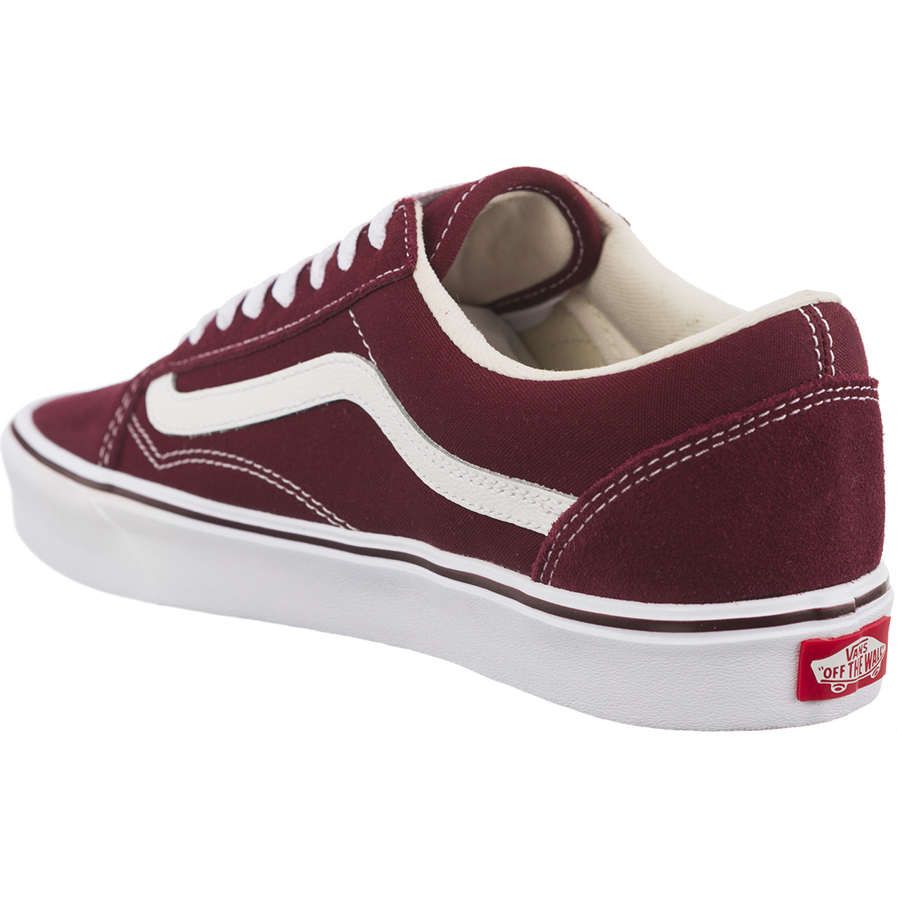 Trampki Vans  <br/><small>OLD SKOOL LITE SUEDE/CANVAS R2K PORT ROYALE/TRUE WHITE </small>  VA2Z5WR2K