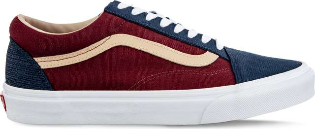 Vans OLD SKOOL VMN TEXTURED SUEDE SAILOR BLUE/PORT VN0A38G1VMN1