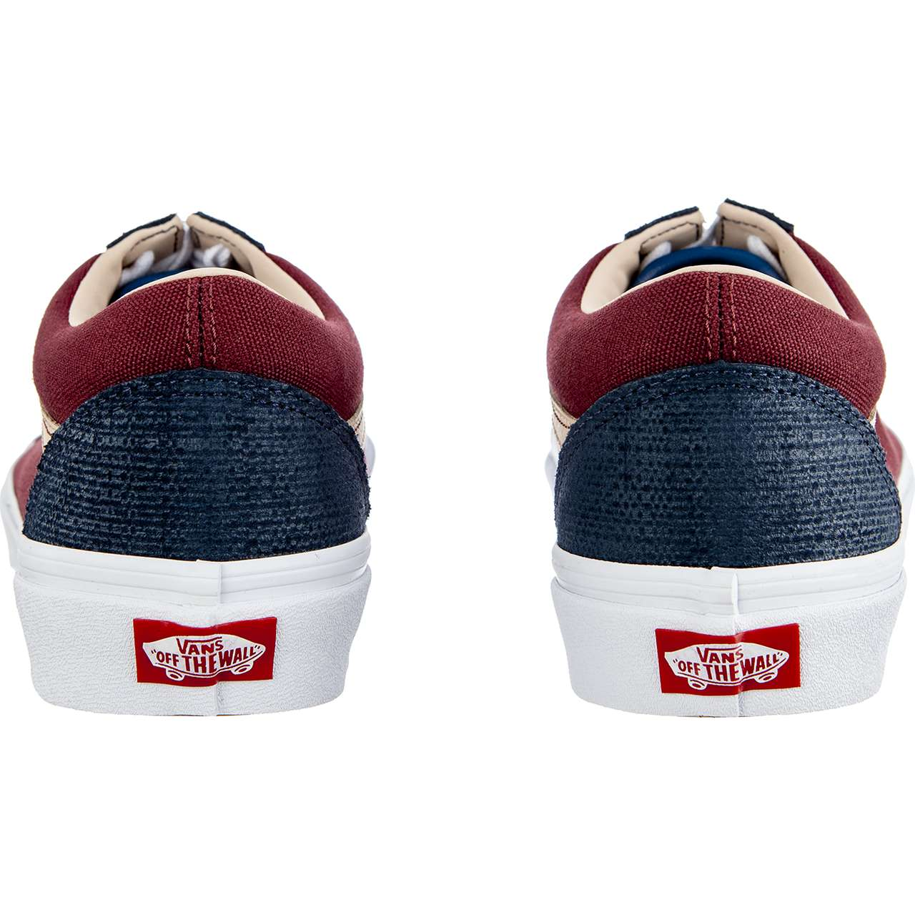 Trampki Vans  <br/><small>OLD SKOOL VMN TEXTURED SUEDE SAILOR BLUE/PORT </small>  VN0A38G1VMN1