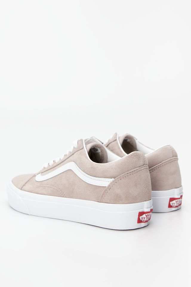 Trampki Vans  <br/><small>OLD SKOOL V79 (PIG SUEDE) SHADOW GREY/TRUE WHITE </small>  VN0A4BV5V79