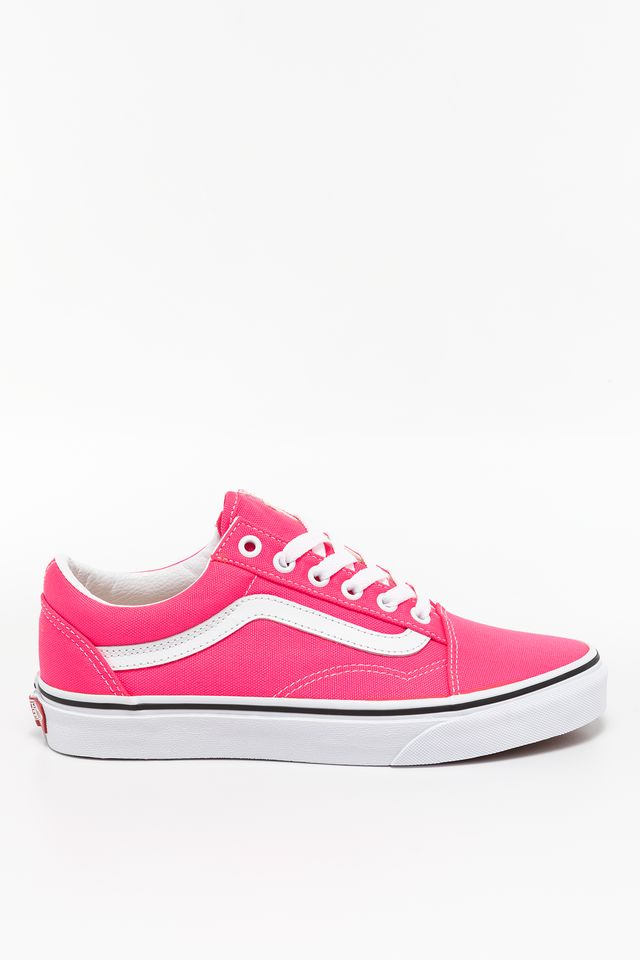 (NEON) KNOCKOUT PINK/TRUE WHITE OLD SKOOL WT6 NEON