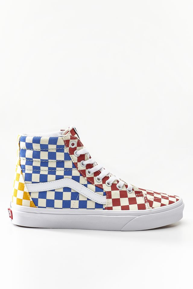 Vans SK8-HI VLV CHECKERBOARD MULTI/TRUE WHITE VN0A38GEVLV1