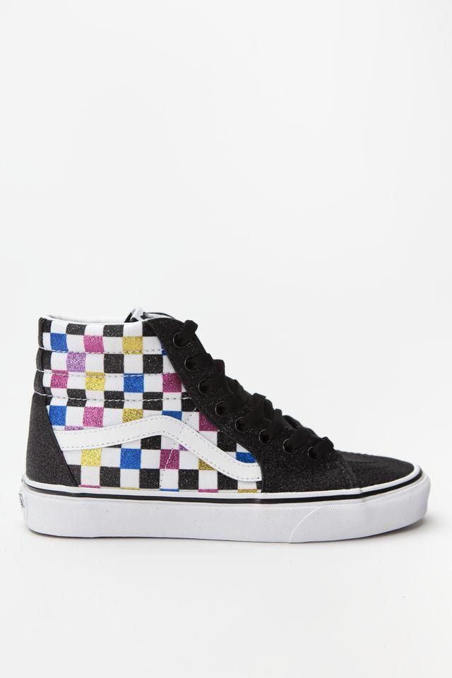 Vans SK8-HI Glitter/Checkerboard VN0A4BV6V3P1