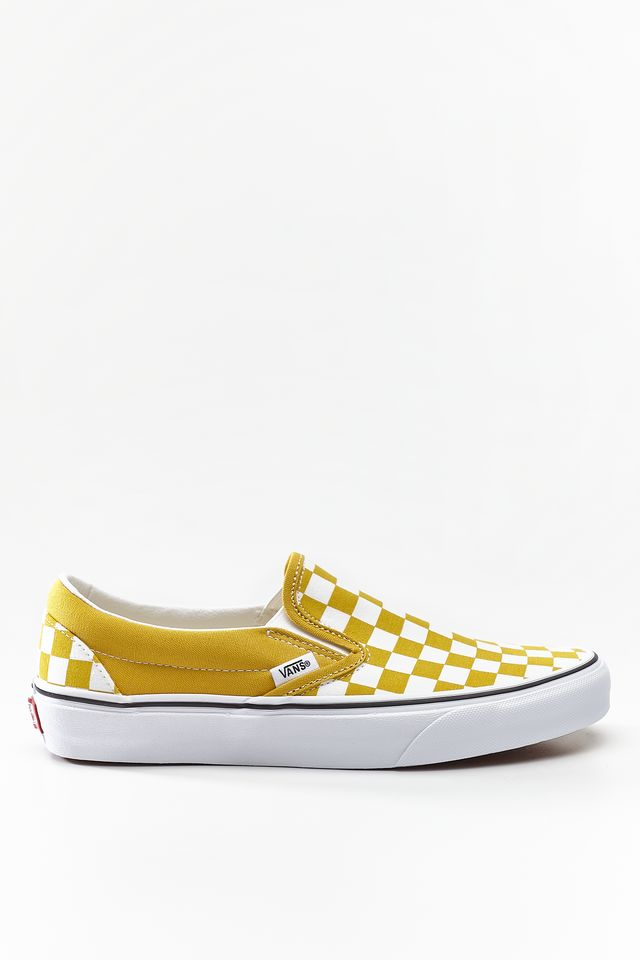 Vans CLASSIC SLIP-ON VLY CHECKERBOARD YOLK YELLOW VN0A38F7VLY1