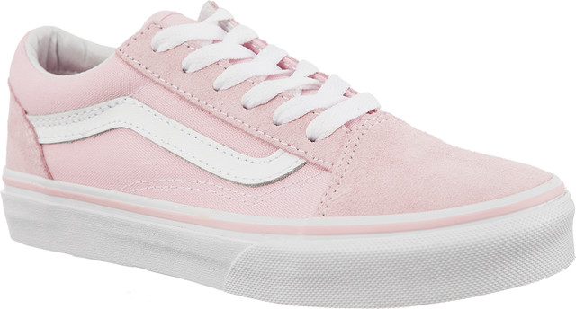 Vans OLD SKOOL SUEDE/CANVAS Q7K CHALK PINK/TRUE WHITE VN0A38HBQ7K1