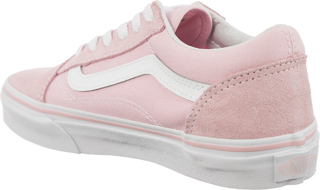 Trampki Vans  <br/><small>OLD SKOOL SUEDE/CANVAS Q7K CHALK PINK/TRUE WHITE </small>  VN0A38HBQ7K1
