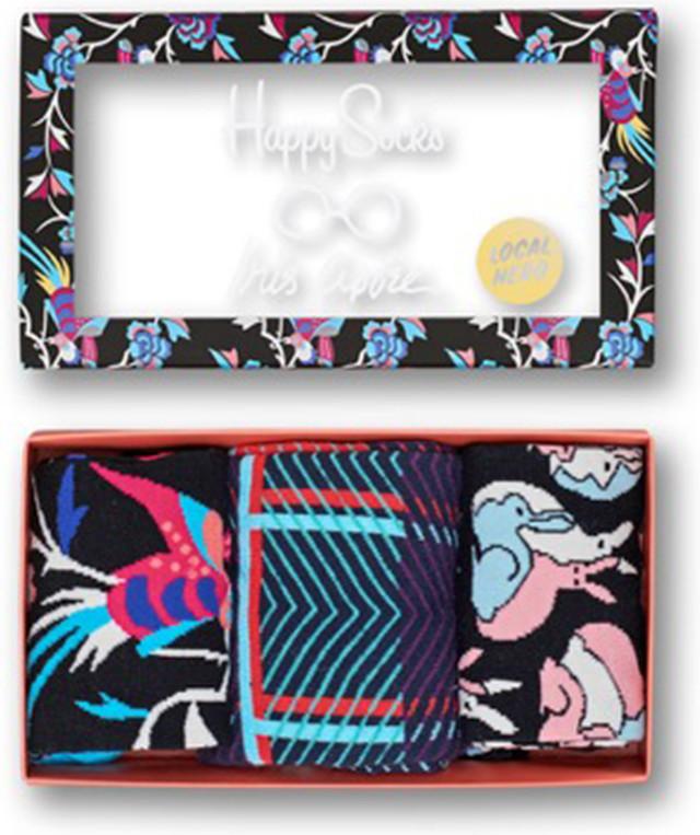 Happy Socks Zestaw skarpet Iris Apfel Giftbox XIR0 XIR08-9000 3081